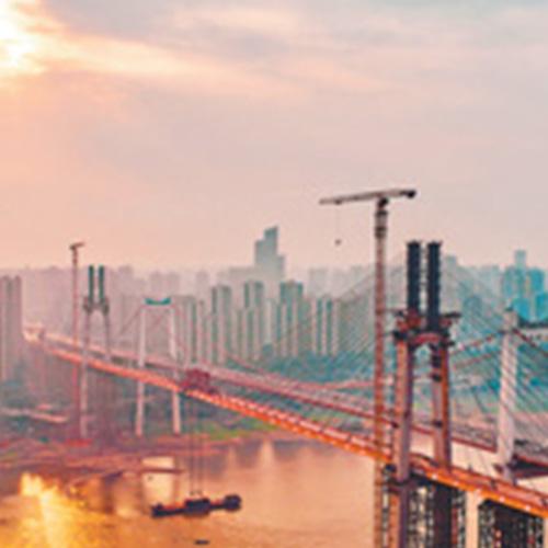 世界最大跨度自錨式懸索橋合龍
