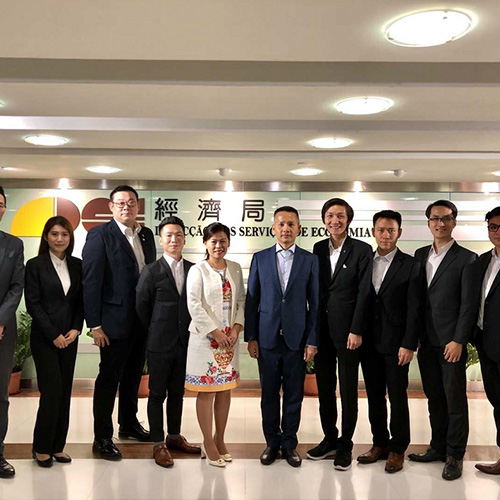 澳門國際科技產業發展協會拜訪經濟局