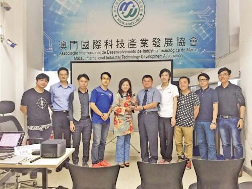 台灣王朝欽教授分享科技產業發展經驗