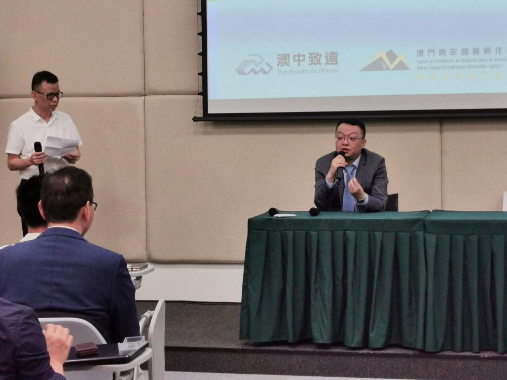 科技部中國民營科技促進會聯盟培育服務中心孫陸處長發言