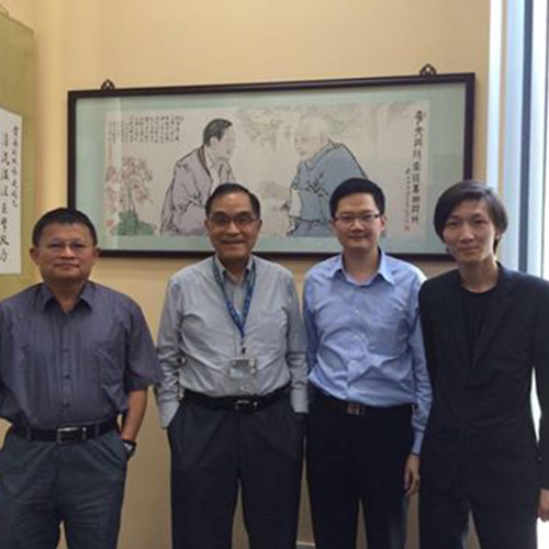 澳門國際科協拜訪澳門大學總監馮達旋教授