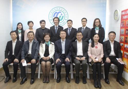 廣州市政協主席劉悅倫蒞臨本會