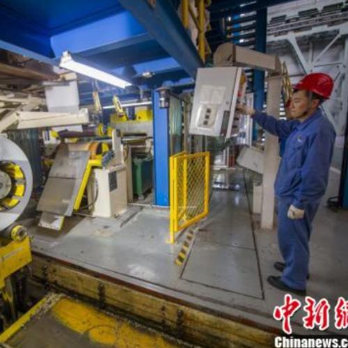 中國最薄不銹鋼山西問世打破國外長期壟斷