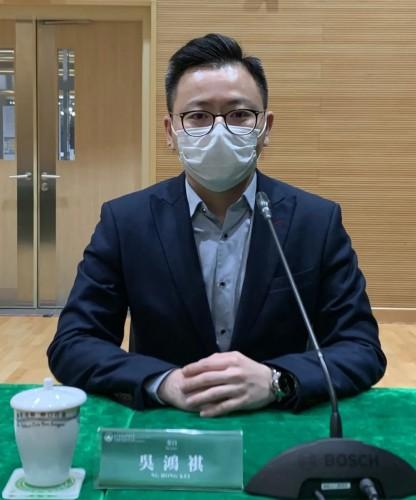 吳鴻祺倡完善網絡安全指引及補充相關配套