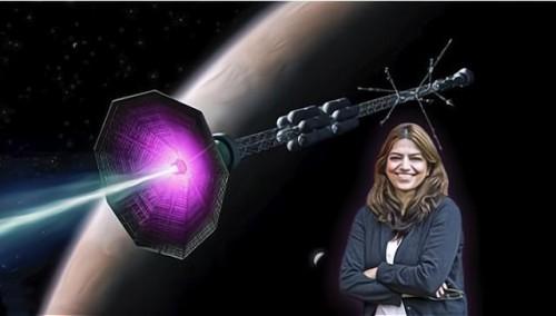 從太陽得到靈感,女物理學家發明新型火箭,一個月就能到火星