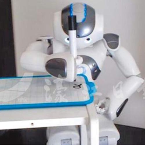 高考機器人對決青年作家 機器人作文得滿分